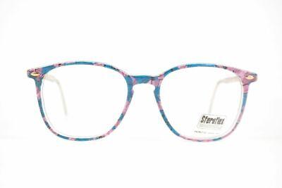 Gewissenhaft Vintage Luxotica Steroflex M250 52[]18 150 Bunt Oval Brille Eyeglasses Nos