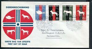 Suriname FDC E24_  3 M, met adres ;