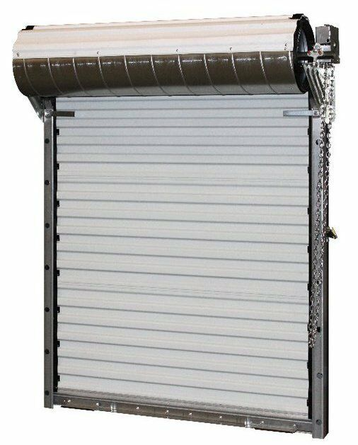 Durosteel Janus 10x10 Heavy Duty 3400 Series Hurricane Wind Rated Roll Up Door For Sale Online