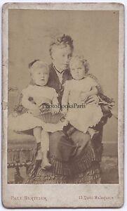 Paul Berthier Parigi Second Empire Francia CDV Vintage Albumina Ca 1860
