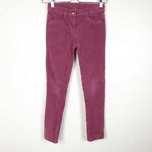 Crewcuts-J-Crew-Girls-Skinny-Straight-Fit-Corduroy-Pants-Size-8-Purple-Pink
