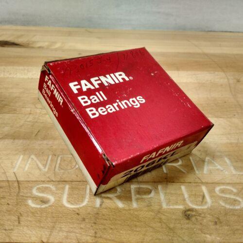 30mm x 62mm x 20mm Fafnir 206KL Single Row Ball Bearing NEW