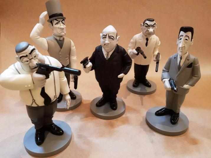 LES TONTONS FLINGUEURS PETITS MODELES 16cm caricature saint emett emett emett lautner film ebd3e0