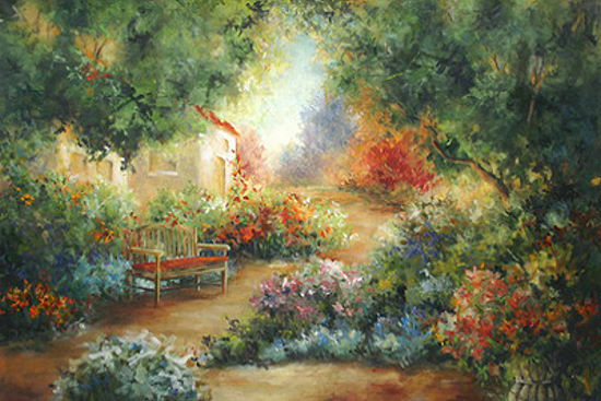 Carol Robinson  Garden in Arles Barella-Immagine Schermo Giardino Provenza