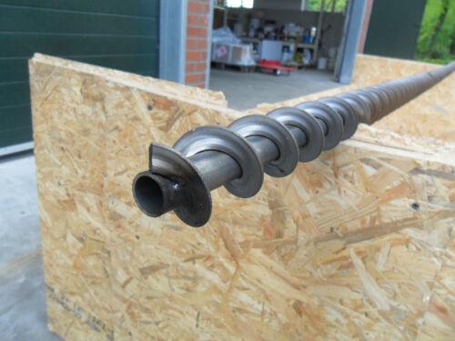 Schnecke 86 mm Förderschnecke Pellet Pellettransport Pelletlagerung