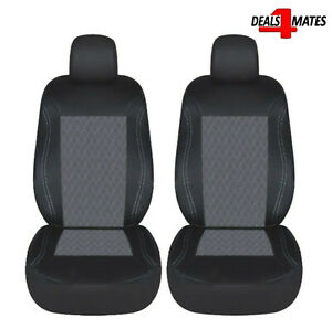 Mini Cooper Blue Black Light Fabric Full Car Seat Covers Set Dacia KIA