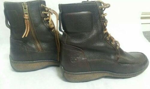 Size Brown Usa Timberland Zip Waterproof Boot Mujer Leather Lace 69337 Smart 6w wBTZwxzIq