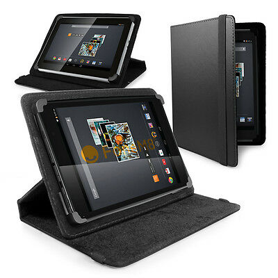 LUXFOLIO STAND LEATHER CASE FOR NEW 2015 KINDLE FIRE HD 8, 8'' HD DISPLAY