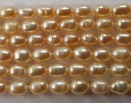 058 Pink Freshwater seed pearls 40 cm string