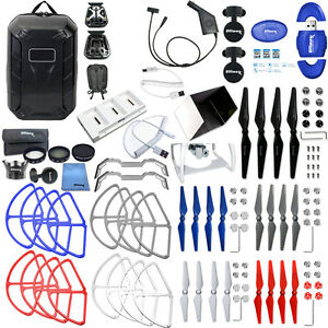 DJI-Phantom-4-EVERYTHING-YOU-NEED-ACCESSORY-BUNDLE-W-HARD-SHELL-BACKPACK-amp-MORE