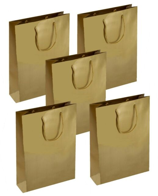 Christmas Gift Bags Lot Retail Shopping Birthday Cookies Kraft Paper Handles