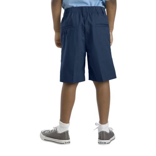 Dickies Boys Navy Shorts Flat Front School Uniform Sizes 4 to 20