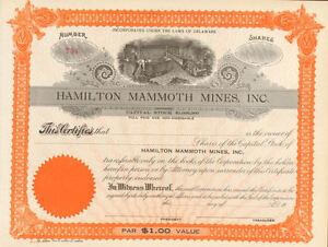 Hamilton-Mammoth-Mines-gt-mining-stock-certificate-share