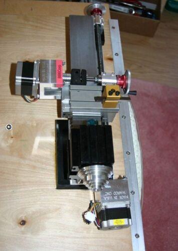 CNC MILL LATHE ROBOT REPRAP taig lathe power feed . 3 NEMA 23 STEPPER MOTORS