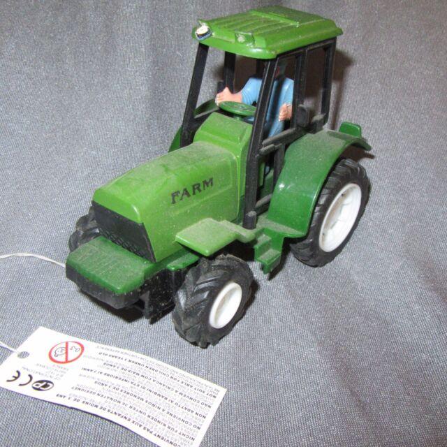482D Jouet Friction Testé Ok Tracteur Agricole Farm Vert L 13,5 cm