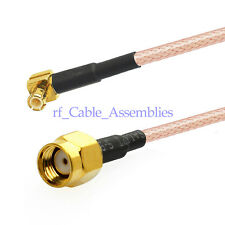 UMTS Antenna Pigtail Cable RP-SMA to MCX for Broadband Router Ericsson W30 W35