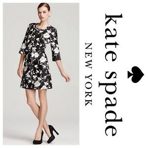 Image Is Loading Kate Spade Florence Broadhurst Black White Fl Dorothy