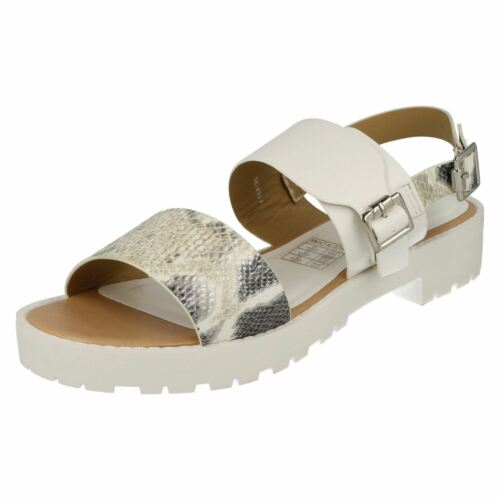 Sandal UK Sizes 5 to 8 R2A SAVANNAH F1R0418 Silver Multi Flanges