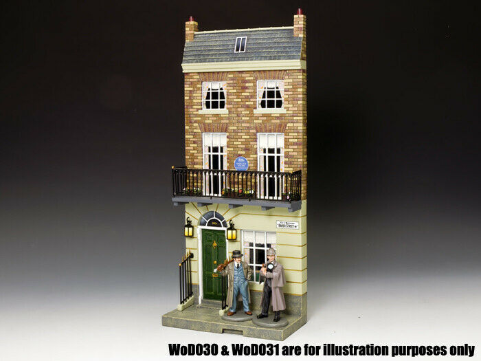 KING & COUNTRY WORLD OF DICKENS WOD033 221B BAKER STREET MIB