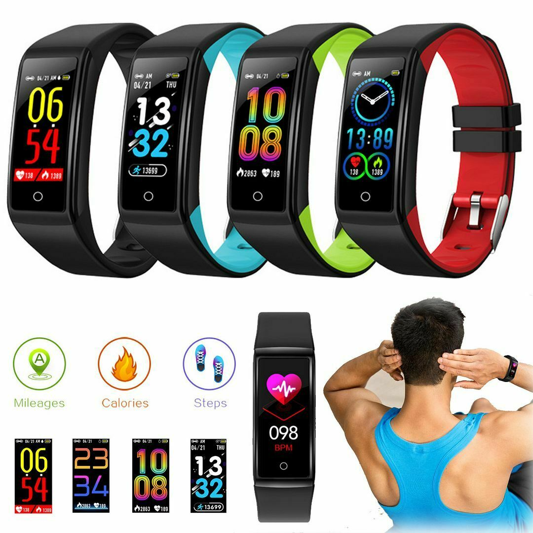 IP67 Waterproof Bluetooth SmartWatch HeartRate Monitor Sport Bracelet For iPhone bluetooth bracelet for heartrate ip67 iphone monitor smartwatch sport waterproof