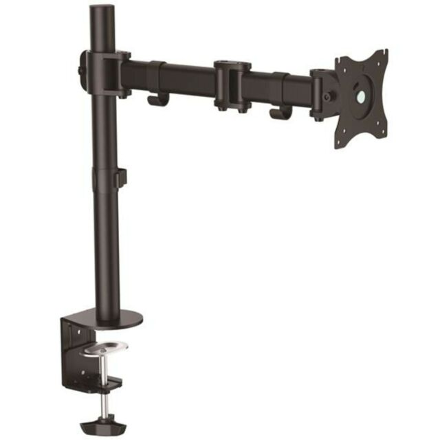 StarTech ARMPIVOTB Desk-Mount Monitor Arm - Articulating - Heavy Duty Steel