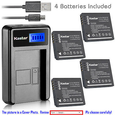 DMC-FX48 DMC-FS6 DMC-FS15 DMC-FS62 DMC-FS4 TWO DMW-BCF10 Lithium Ion Replacement Batteries and Wall charger with Car Charger Attachment for Panasonic Lumix DMC-FS12 DMC-FX40 DMC-FS7 DMC-FT1 DMC-FS42 DMC-FX DMC-FX550 DMC-FT3 DMC-FS25 DMC-FX480