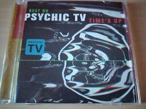 PSYCHIC-TV-Best-Ov-Time-039-s-Up-CD-Industrial-Avantgarde-Throbbing-Gristle