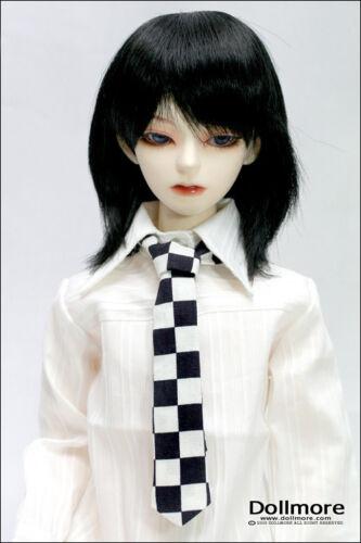 Pattern Necktie Black/&White Dollmore BJD Stripe NEW SD