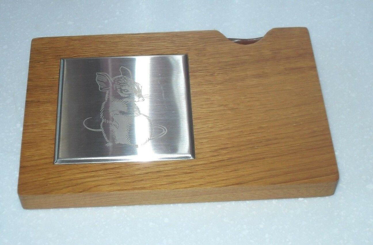 VERY RARE VINTAGE 1960 1960 1960 70s GEO WOSTENHOLM & SON IXL CHEESE BOARD & KNIFE BOXED 54d060