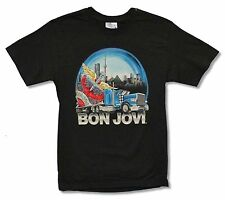 "BON JOVI ""TRUCK TOUR CANADA"" BLACK T-SHIRT NEW OFFICIAL JON ADULT SMALL"