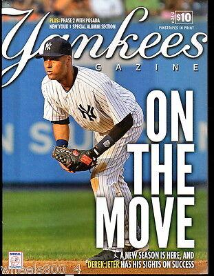 Yankees Magazine April 2013  v.34-2 Sabathia Derek Jeter Rivera Cervelli Cano