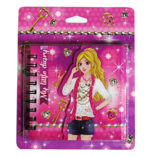 130 x 130mm Holographic Magnetic Cover Sparkle Girl Girls My Little Diary