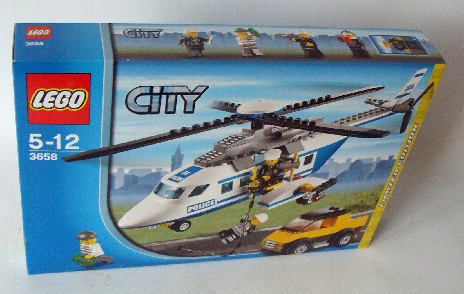 Lego® City 3658 - Polizei Helikopter 237 Teile 5-12 Jahren Jahren Jahren - Neu 025a3b