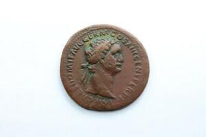 * Domitianus * As - Virtuti Augusti Sc Gut Verkaufen Auf Der Ganzen Welt
