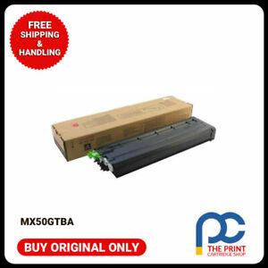 New-amp-Original-Sharp-MX50GTBA-Black-Toner-cartridge-MX4100N-5100N-5000N-5001N