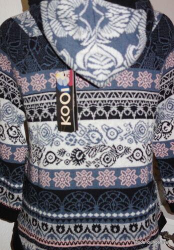 KOOI knitwear Jacke Cardigan Merino-wolle Kaschmir IV-KO15179 fjord norweger