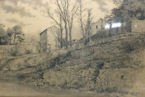 Gustav-Mueller-Aquarell-An-der-Via-Domencia-Genua-Oktober1944