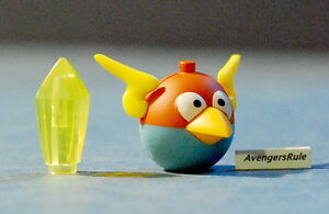 K-039-Nex-Angry-Birds-Mistero-Serie-2-Blu-Uccello-Spazio-e-Giallo-Cristallo