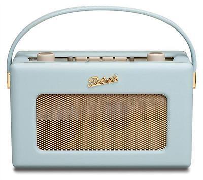 ROBERTS REVIVAL RD60 FM DAB RADIO DUCK EGG BLUE GOLD PLATE FITTING 2 YR WARRANTY