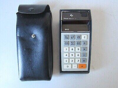 Il Migliore Calcolatrice Sr10 Texas Instruments Anni 70 Vinanni 70 Vintage Supplemento L'Energia Vitale E Il Nutrimento Yin