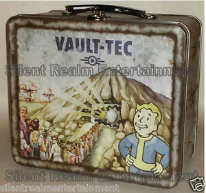 Fallout-4-Vault-Tec-111-Weathered-Tin-Tote-Prop-Replica-Metal-Lunchbox