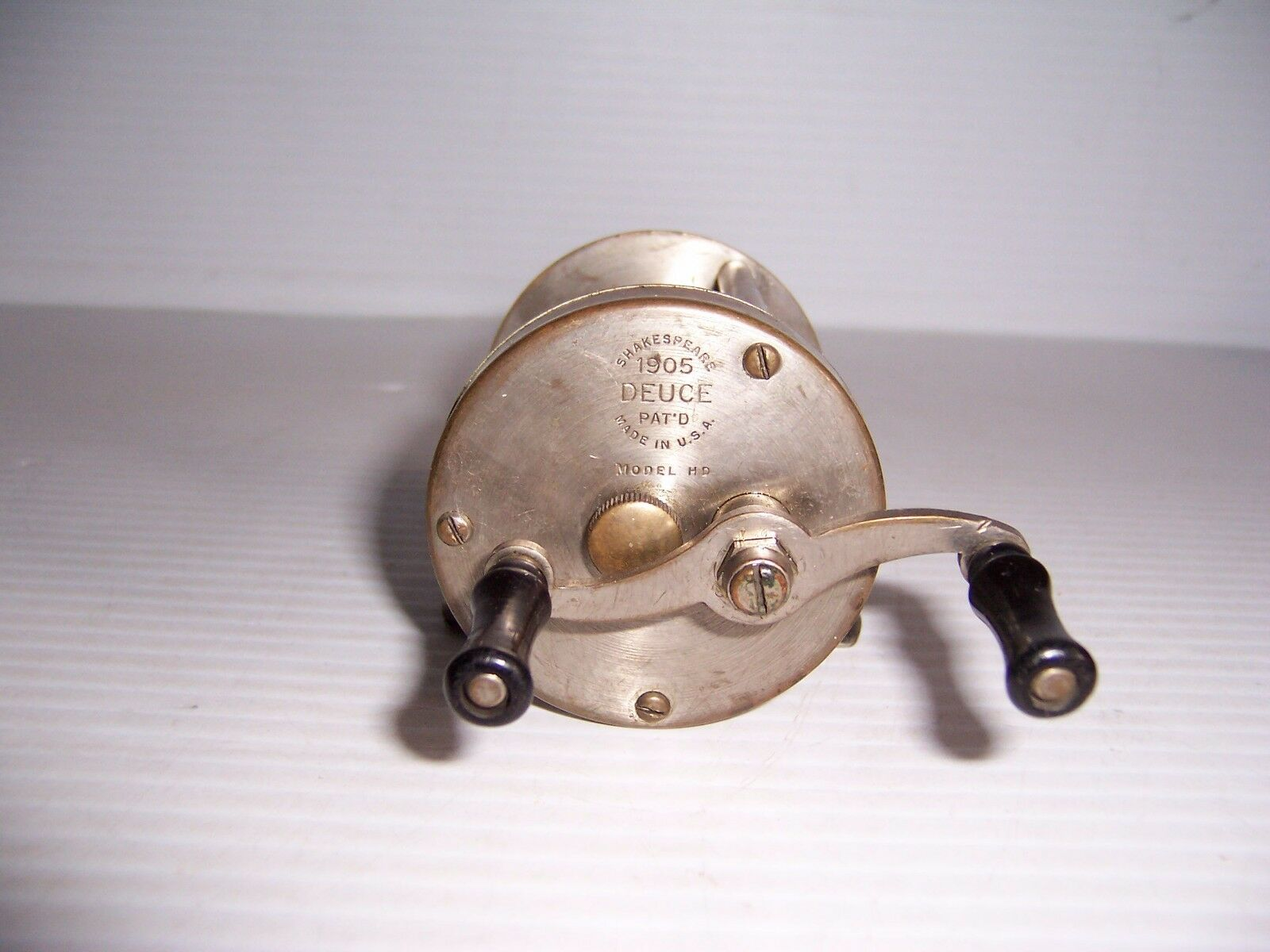 Vintage Shakespeare Deuce 1905 Model HD Fishing Reel