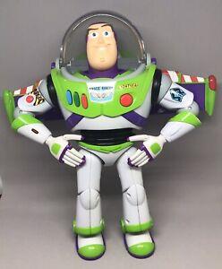 "BUZZ LIGHTYEAR 12"" Talking Thinkway Toys Toy Story Disney/Pixar Tested"