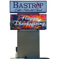 Programmable 3x6 Outdoor Full Color Led Sign With Wifi Control Amp Free Shipping