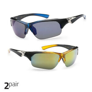 ef9116a2c7 X Loop Sport Half Frame Sunglasses For Men And Women Wrap Around ...