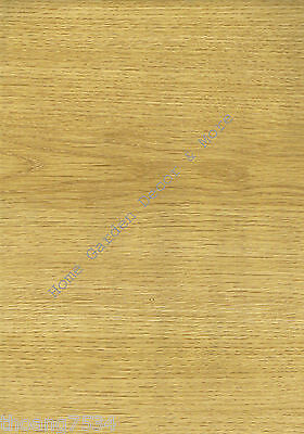 Natural Light Wood Grain Oak Vinyl Contact Paper Shelf Drawer Liner Peel Stick