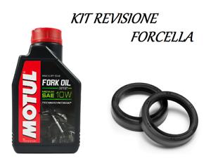 MéThodique Kit Motul Fork Oil Expert Olio 10w Paraoli Forcella Athena Aprilia Sr 50 93 94 ChronoméTrage Ponctuel