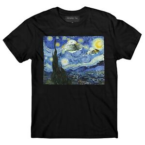 UFO-t-shirt-Vincent-Van-Gogh-Starry-Night-t-shirt-Area-51
