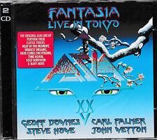 ASIA - Fantasia / Live in Tokyo   -2-CD-   NEU&OVP/SEALED!