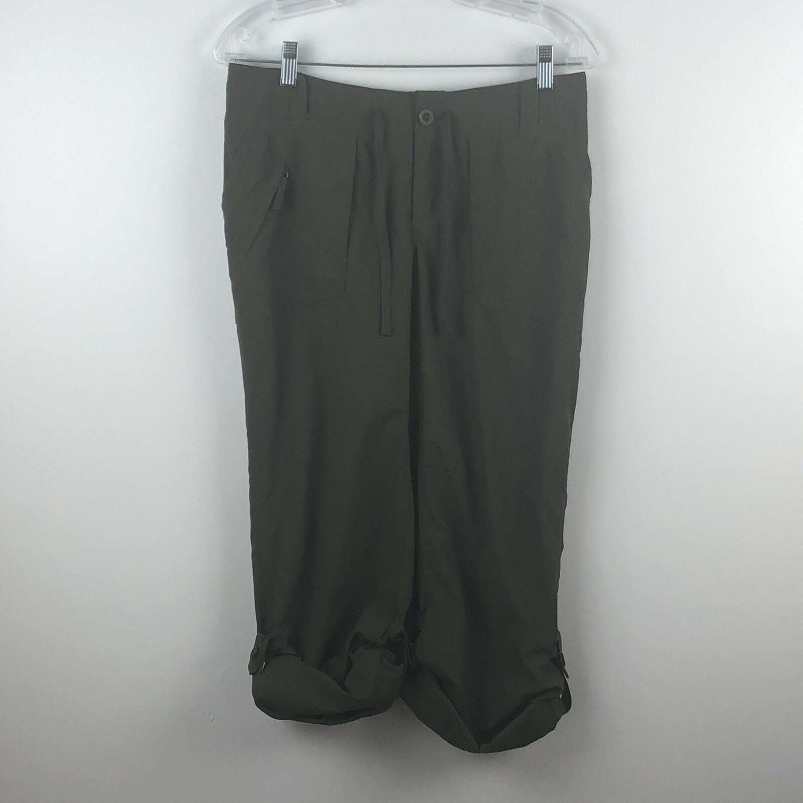 THE NORTH FACE WOMEN'S HORIZON TEMPEST PANTS ARRD in Taupe Green 4
